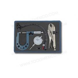 Micrómetro para discos de frenos y rotor.