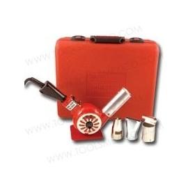 Pistola de calor profesional de 500 - 750°F con accesorios y estuche.