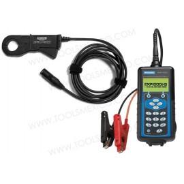 Analizador de baterías y sistema eléctrico de uso pesado.