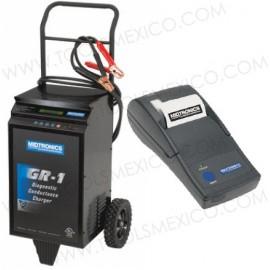 Cargador y probador baterías con impresora 12v