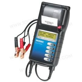 Analizador de sistema eléctrico y de baterías con impresora.