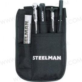 Kit de herramienta neumática en bolsa.