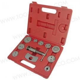 Kit de herramienta de pinza y 11 piezas pastillas de freno.
