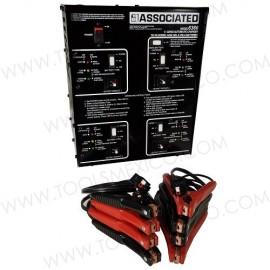 Cargador cuadrilla industrial 4x20 Amp.