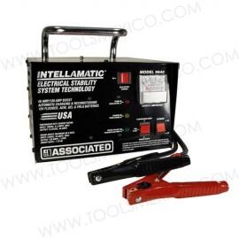 Cargador de batería automático banco de 12V/40A con interruptor de anulación Intellamatic.