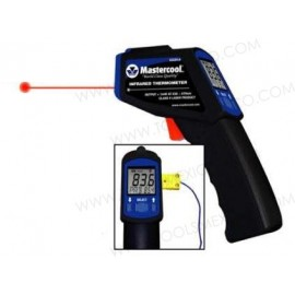 Termómetro infrarrojo con laser / probeta de inmersión.