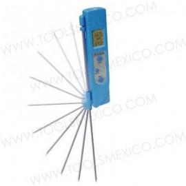 Termómetro doble temperatura sonda/infrarojo.