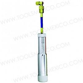 Sistema de inyección recargable para 2oz de aceite / aditivo.