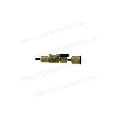 Removedor / instalador de válvulas de obús.