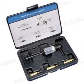 Kit de lujo para el mantenimiento de orificios de tubos.