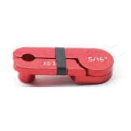 Desconector de línea de combustible de 5/16''(Rojo).