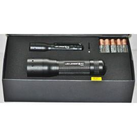 Combo de Linternas LED Lenser P3 y P7.
