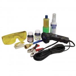 Kit profesional para la detección de fugas UV.