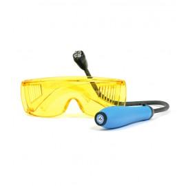 Lámpara UV flexible para detección de fugas.