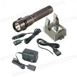 Linterna LED Strion Recargable con Abastecedor y Base.
