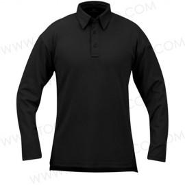 Camisa tipo polo manga larga ICE™.