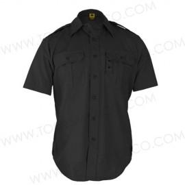 Camisa de vestir táctica manga corta.