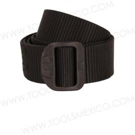 Cinturón táctico de nylon.